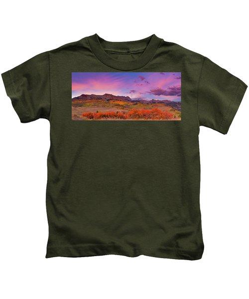 The Last Light Of September Kids T-Shirt