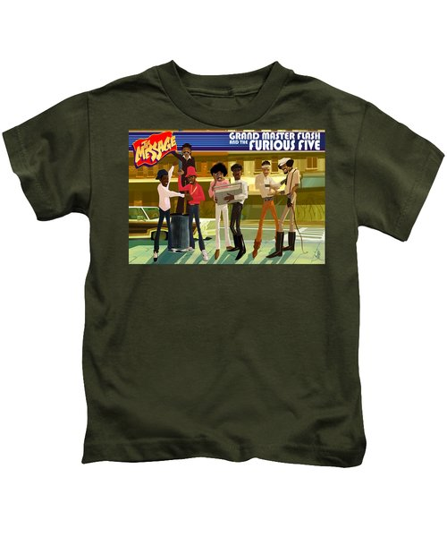 The Message Kids T-Shirt