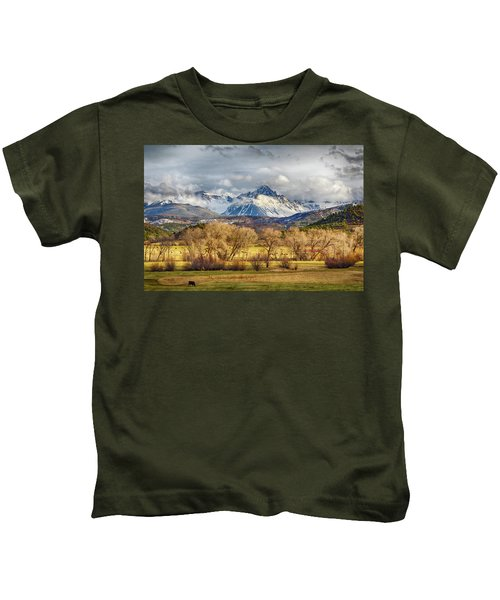 The Queen Of The San Juans Kids T-Shirt