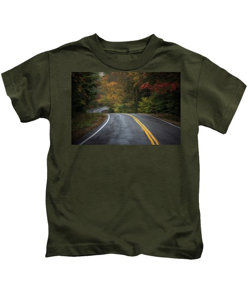 The Road To Friends Lake Kids T-Shirt