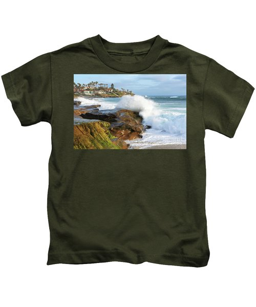 The Sea Was Angry That Day My Friends Kids T-Shirt