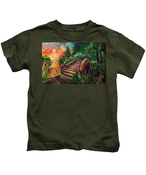 The Spirit Bridge At City Park  Kids T-Shirt