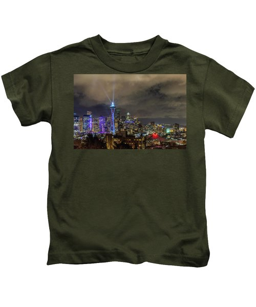 The Star Of Seattle Kids T-Shirt
