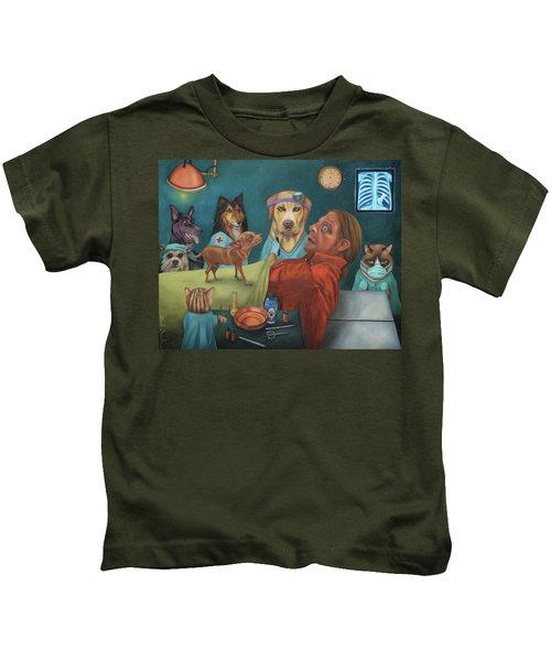 The Vet's Worst Nightmare Kids T-Shirt