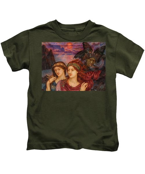 The Vision, 1914 Kids T-Shirt