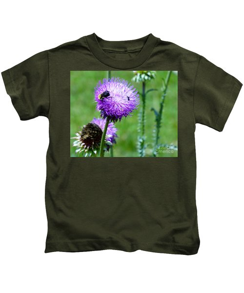Thistle Visitors Kids T-Shirt