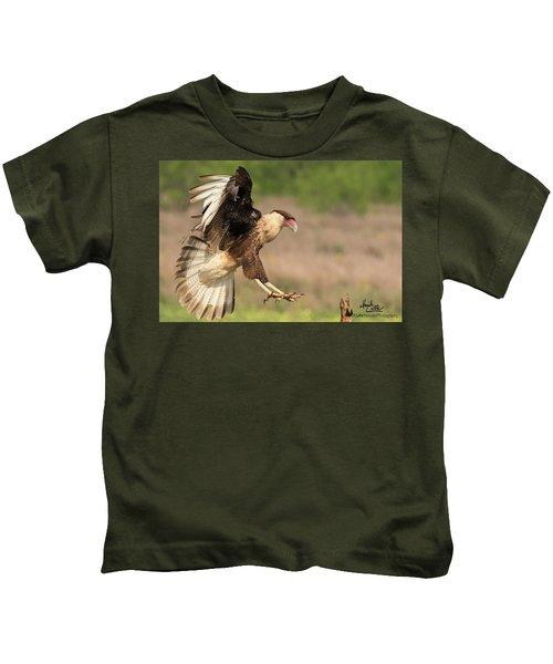Touching Down Kids T-Shirt
