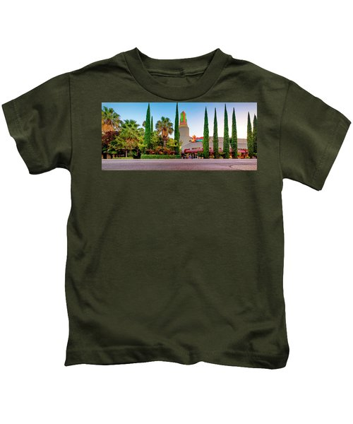 Tower Cafe Dusk- Kids T-Shirt