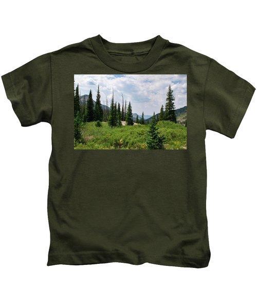 Trail To Gilpin Lake Kids T-Shirt