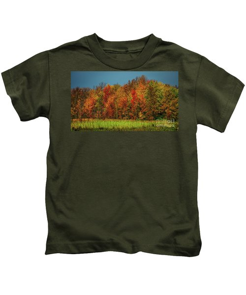 Tug Hill Colors Kids T-Shirt