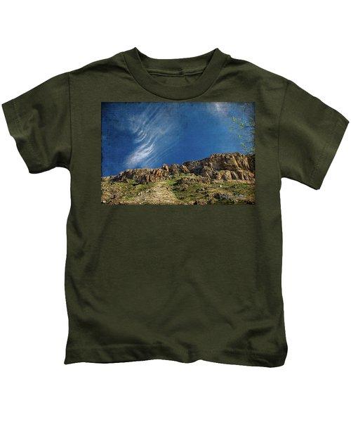 Tuscon Clouds Kids T-Shirt