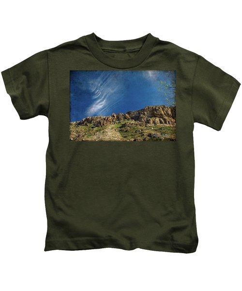 Tuscon Clouds Kids T-Shirt