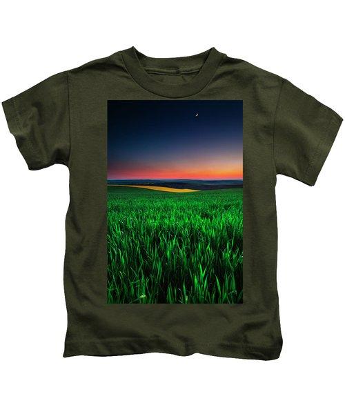 Twilight Fields Kids T-Shirt