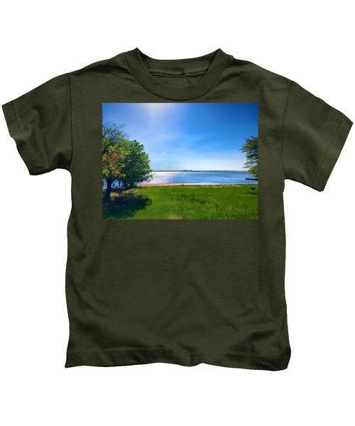 Kids T-Shirt featuring the photograph Utopia by Chris Montcalmo