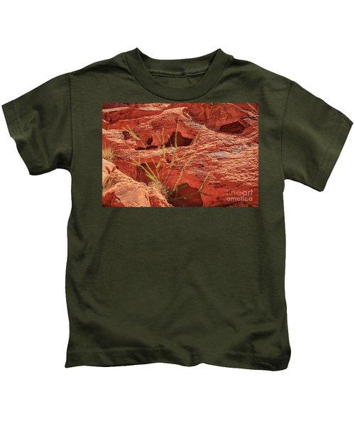 Valley Of Fire Nevada Kids T-Shirt