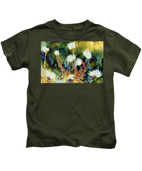 Van Gogh's High Desert Flowers Kids T-Shirt
