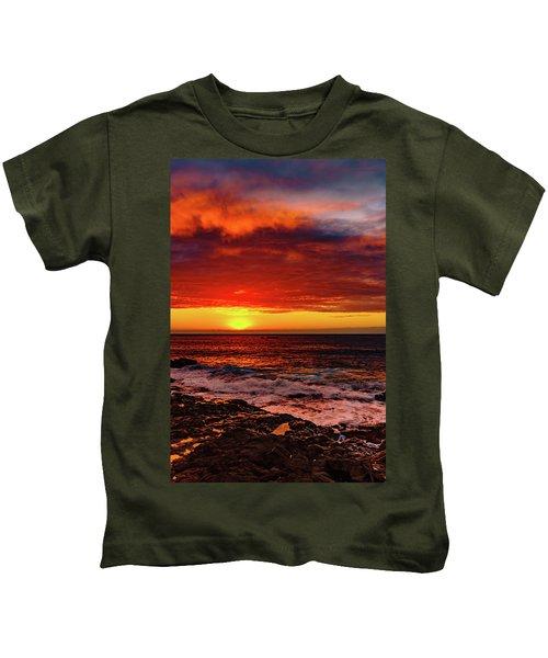 Vertical Warmth Kids T-Shirt