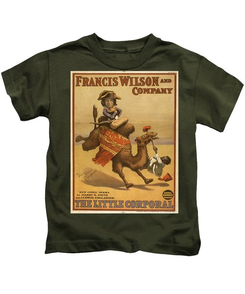 Vintage Poster - The Little Corporal Kids T-Shirt