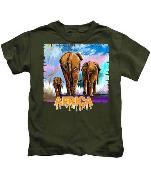 Walking Away Kids T-Shirt