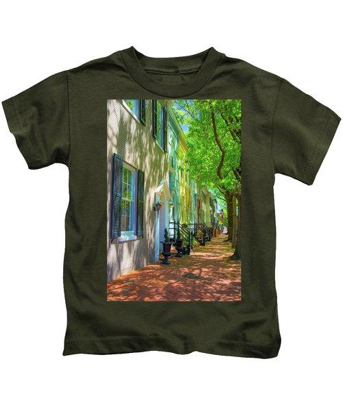 Walking On Duke Street Kids T-Shirt