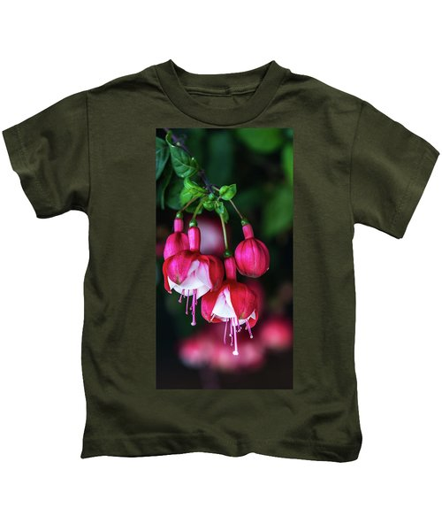 Wallpaper Flower Kids T-Shirt