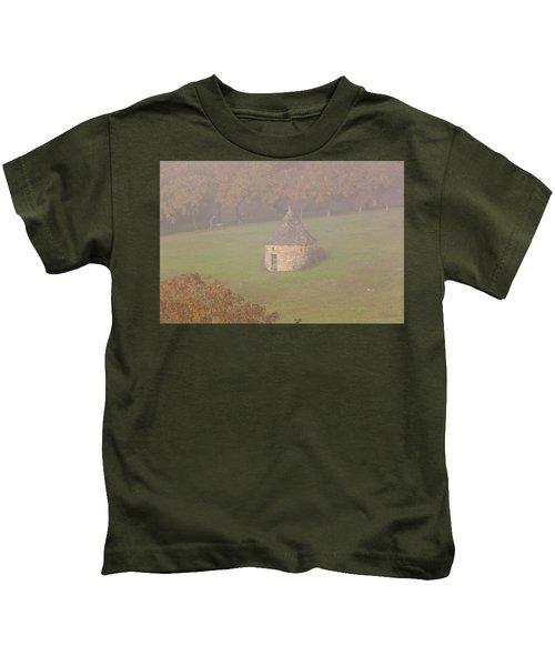 Walnut Farmers, Beynac, France Kids T-Shirt