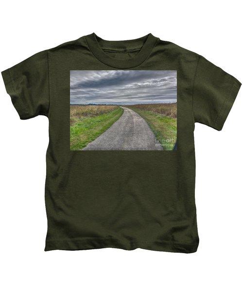 Walnut Woods Pathway - 1 Kids T-Shirt