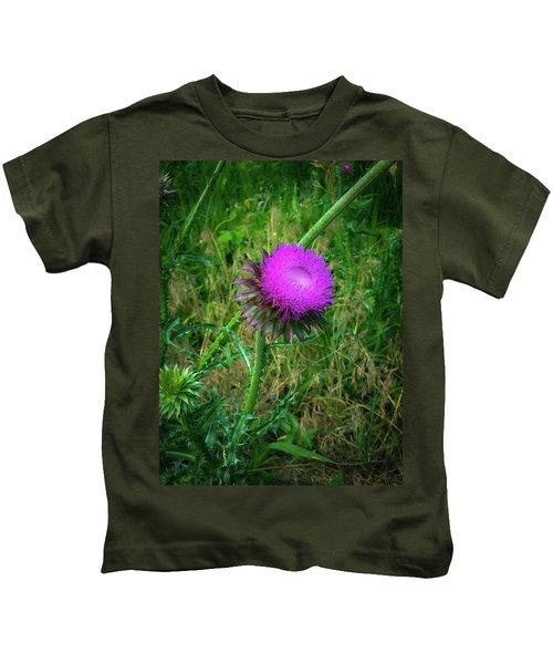 Wanna Be In Scotland Kids T-Shirt