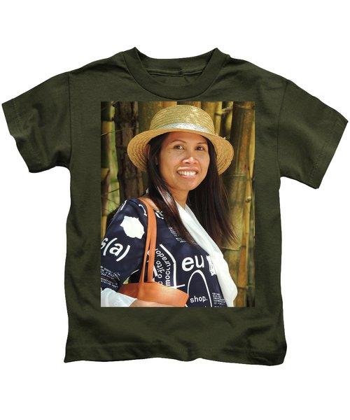 Waree Smiling Again Kids T-Shirt
