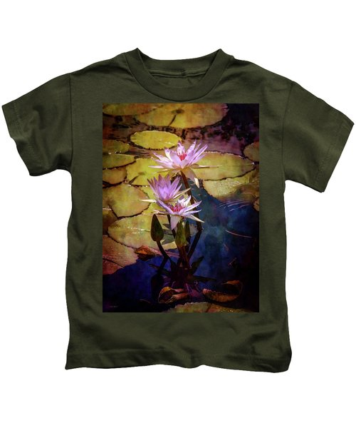 Waterlily Bouquet 2922 Idp_6 Kids T-Shirt