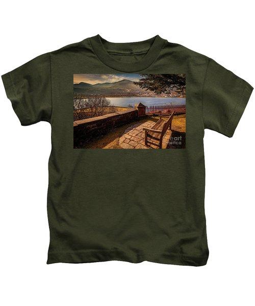 Welsh Lake Viewpoint Kids T-Shirt