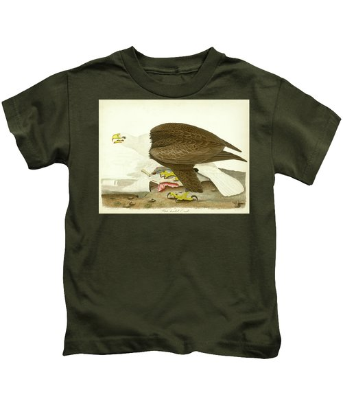 White-headed Eagle Kids T-Shirt