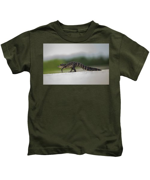 Why Did The Gator Cross The Road? Kids T-Shirt