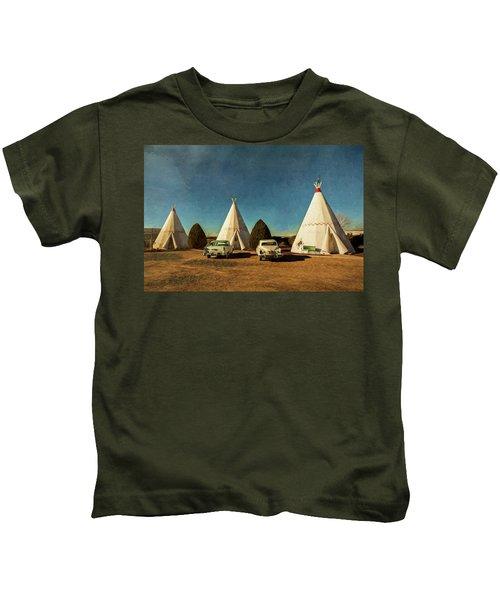 Wigwam Hotel Kids T-Shirt