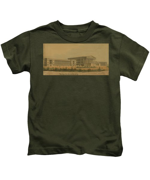 Winning Competition Entry For Girard College Kids T-Shirt