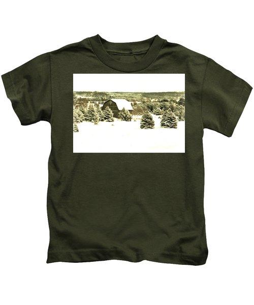 Winter Barn Kids T-Shirt