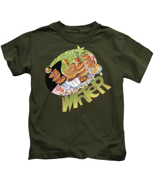 Winter Snack Kids T-Shirt