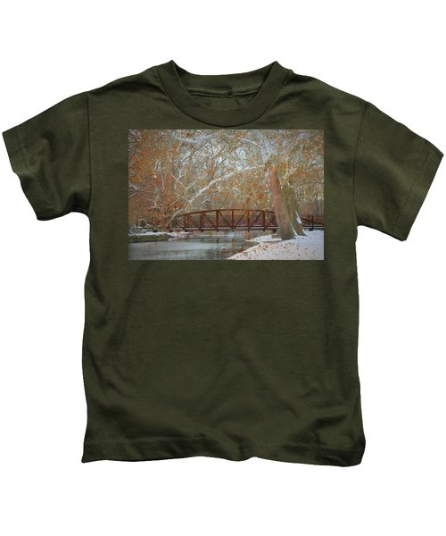 Winter Sycamores Kids T-Shirt