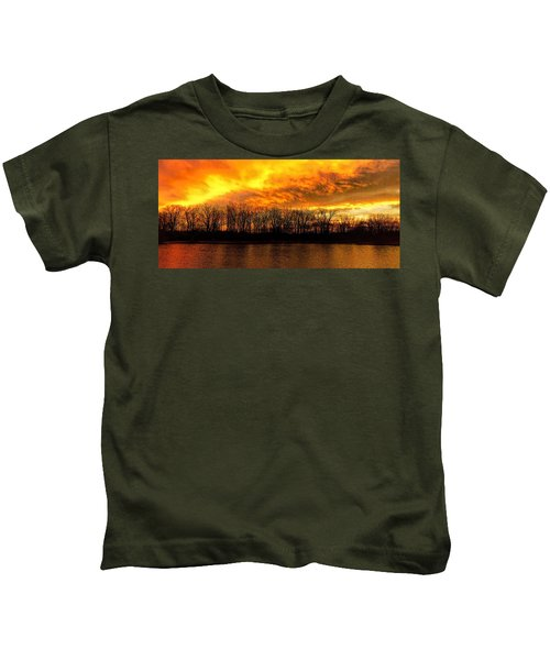 Winter Warmth Kids T-Shirt