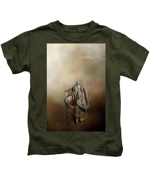 Woodland Visitor Kids T-Shirt