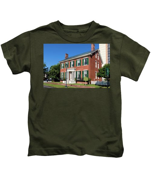 Woodrow Wilson Boyhood Home - Augusta Ga 3 Kids T-Shirt