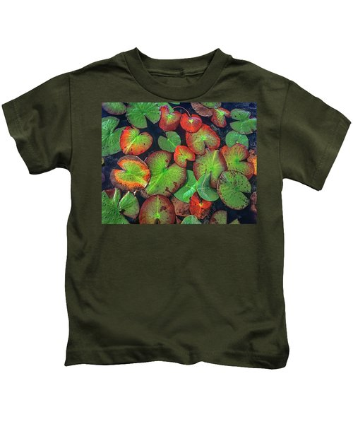 Yellow Pond Lily, Weminuche Wilderness Kids T-Shirt