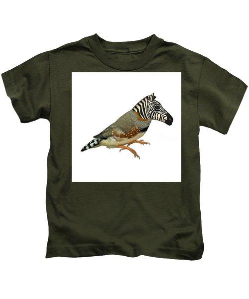 Z Is For Zebra Finch Thats Not A Zebra Finch Kids T-Shirt