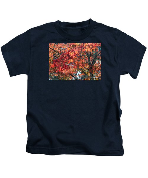 Autumn Leaves Kids T-Shirt