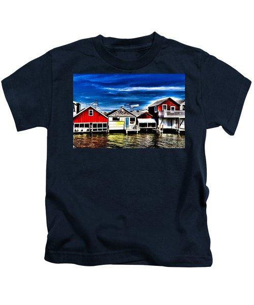 Boathouse Row Kids T-Shirt