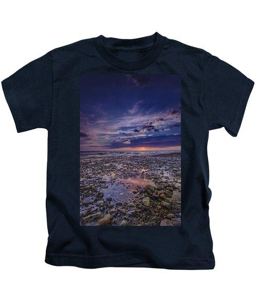 Bound Brook Sunset Kids T-Shirt