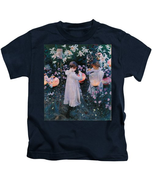 Carnation Lily Lily Rose Kids T-Shirt