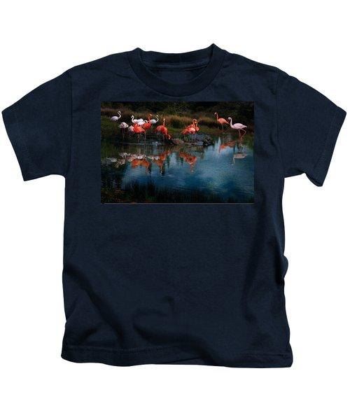 Flamingo Convention Kids T-Shirt
