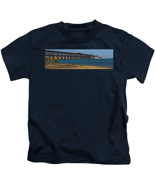 Old Bahia Honda Bridge Kids T-Shirt