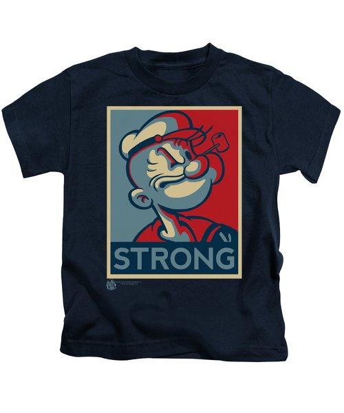 Popeye - Strong Kids T-Shirt